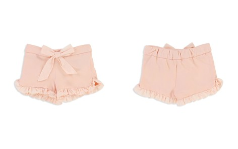 Chloé Girls' Ruffled Fleece Shorts with Bow - Baby - Bloomingdale's_2