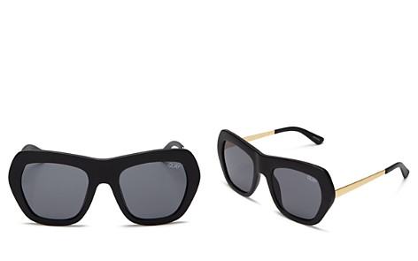 Quay Common Love Square Sunglasses, 60mm - Bloomingdale's_2