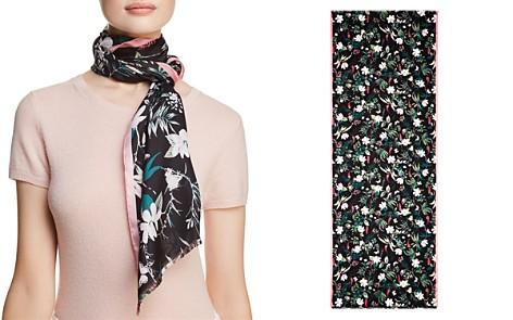 kate spade new york Botanical Silk Oblong Scarf - Bloomingdale's_2