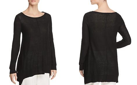 Donna Karan New York Linen Step-Hem Sweater - Bloomingdale's_2