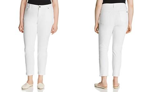 MICHAEL Michael Kors Plus Selma Skinny Ankle Jeans in White - Bloomingdale's_2