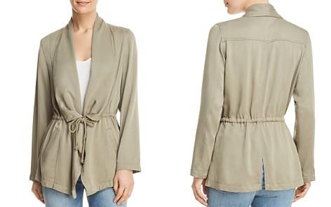 Bagatelle Draped Drawstring Jacket - 100% Exclusive - Bloomingdale's_2