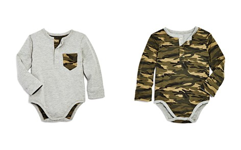 Bardot Junior Boys' Reversible Camo Long-Sleeve Bodysuit - Baby - Bloomingdale's_2