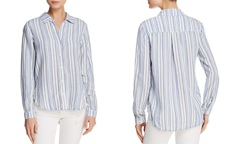 Bella Dahl Fringed Button-Down Shirt - Bloomingdale's_2