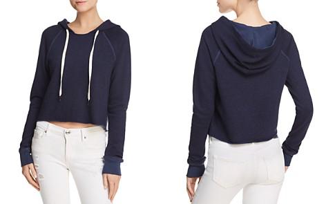 n PHILANTHROPY Jordan Cropped Hooded Sweatshirt - 100% Exclusive - Bloomingdale's_2