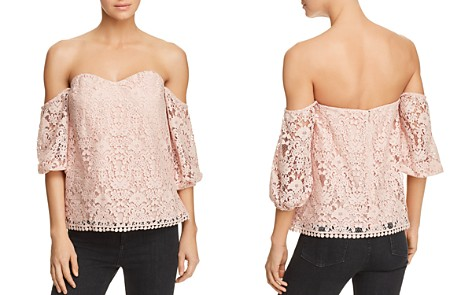 Bailey 44 Dream Come True Off-the-Shoulder Lace Top - 100% Exclusive - Bloomingdale's_2