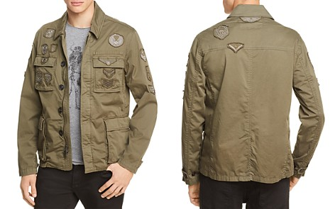 John Varvatos Star USA Military Patched Jacket - 100% Exclusive - Bloomingdale's_2
