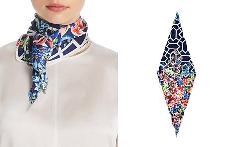 Echo Adelaide Floral Print Silk Diamond Scarf - Bloomingdale's_2