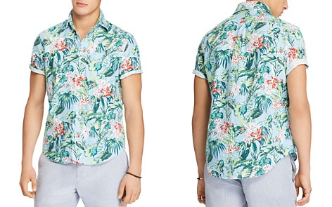 Polo Ralph Lauren Tropical Print Classic Fit Sport Shirt - Bloomingdale's_2