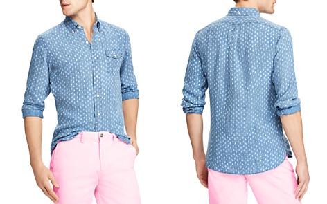 Polo Ralph Lauren Sailboat Print Classic Fit Sport Shirt - Bloomingdale's_2