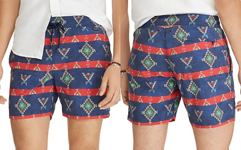 Polo Ralph Lauren 5¾-Inch Explorer Print Swim Trunks - Bloomingdale's_2