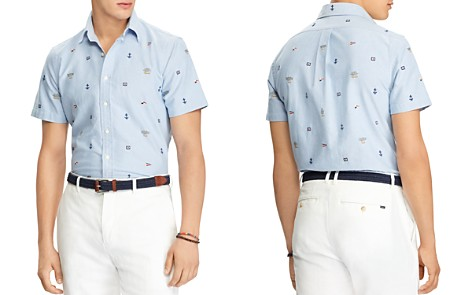 Polo Ralph Lauren Nautical Classic Fit Sport Shirt - Bloomingdale's_2