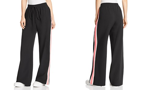MILLY Italian Cady Track Pants - Bloomingdale's_2