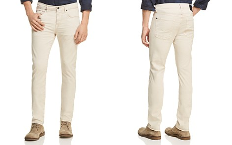 7 For All Mankind Adrien Slim Fit Jeans in White Onyx - 100% Exclusive - Bloomingdale's_2