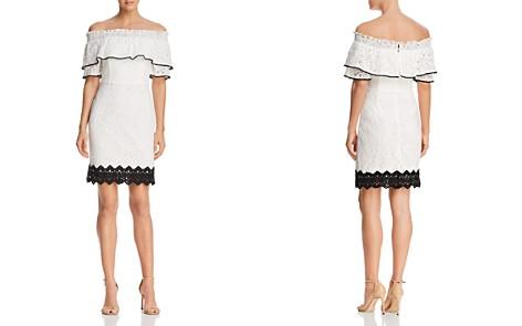 Adelyn Rae Hilda Off-the-Shoulder Lace Dress - Bloomingdale's_2