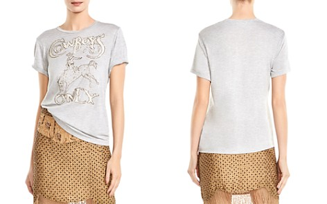 """Haute Hippie """"Cowboys Only"""" Graphic Tee - Bloomingdale's_2"""