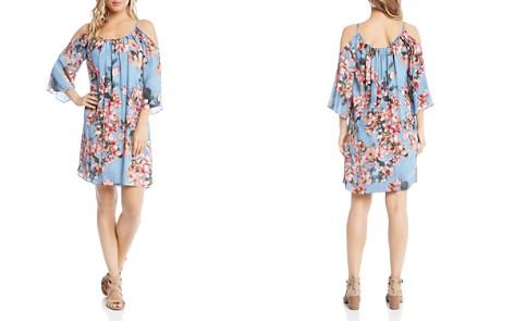 Karen Kane Floral-Print Cold-Shoulder Dress - Bloomingdale's_2