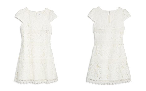 US Angels Girls' Tiered Lace Dress - Little Kid - Bloomingdale's_2