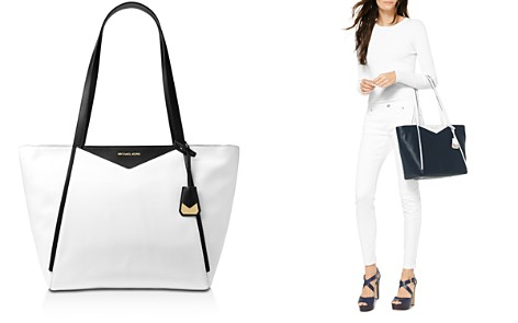 MICHAEL Michael Kors Whitney Large Top Zip Leather Tote - Bloomingdale's_2