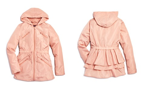 AQUA Girls' Ruffled Rain Jacket, Big Kid - 100% Exclusive - Bloomingdale's_2
