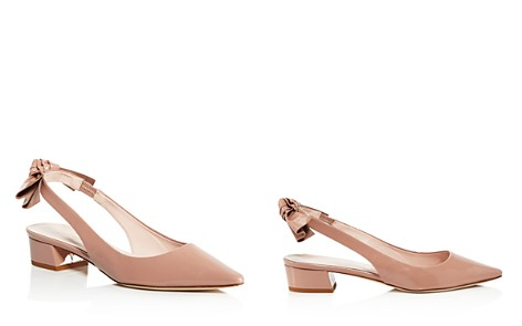 kate spade new york Women's Lucia Patent Leather Slingback Block Heel Pumps - Bloomingdale's_2