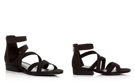 Eileen Fisher Women's Eva Nubuck Leather Crisscross Sandals - Bloomingdale's_2