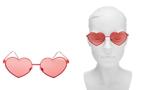 Quay Heart Breaker Sunglasses, 53mm - Bloomingdale's_2