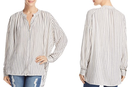 Splendid Painters Striped Blouse - Bloomingdale's_2