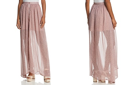FRENCH CONNECTION Elao Sheer Maxi Skirt - Bloomingdale's_2