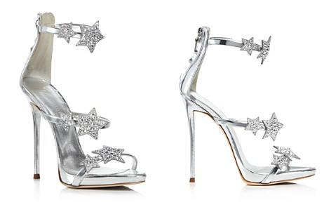 Giuseppe Zanotti Women's Strappy Leather & Crystal Embellished Star High-Heel Sandals - Bloomingdale's_2
