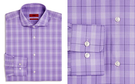 HUGO Plaid Regular Fit Dress Shirt - Bloomingdale's_2