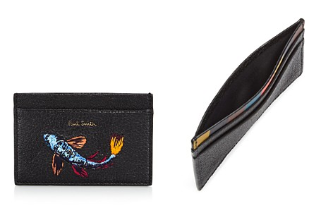 Paul Smith Embroidered-Fish Leather Card Case - Bloomingdale's_2