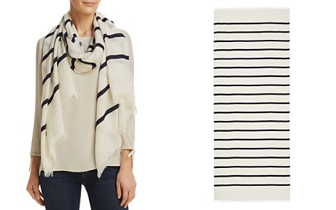 Max Mara Poltava Striped Scarf - Bloomingdale's_2