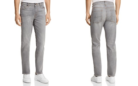 7 For All Mankind Slimmy Slim Fit Jeans in Gravel - Bloomingdale's_2