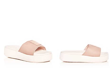 PUMA Women's Platform Pool Slide Sandals - Bloomingdale's_2