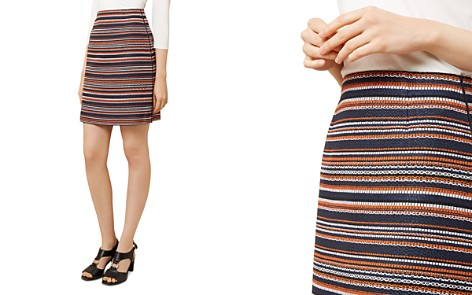 HOBBS LONDON Tammi Striped Tweed Skirt - Bloomingdale's_2
