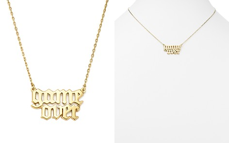 "Bing Bang NYC Game Over Necklace, 16"" - 100% Exclusive - Bloomingdale's_2"