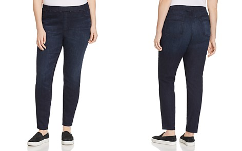 Eileen Fisher Plus Legging Jeans in Utility Blue - Bloomingdale's_2