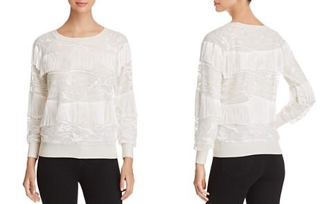 Elie Tahari Roslyn Fringe Sweater - Bloomingdale's_2