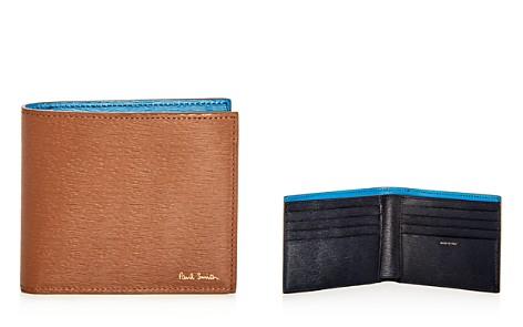 Paul Smith Color-Block Leather Bi-Fold Wallet - Bloomingdale's_2