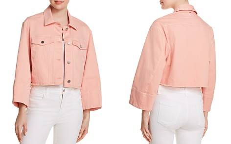 Elizabeth and James Branson Cropped Denim Jacket - Bloomingdale's_2