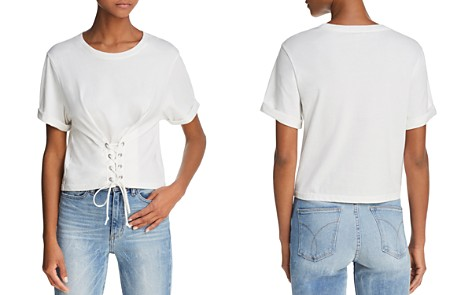 Joie Lizeth Lace-Up Tee - Bloomingdale's_2