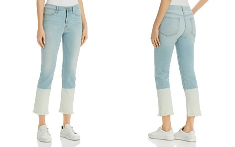 FRAME Le High Straight Release-Hem Jeans in Finchley - Bloomingdale's_2