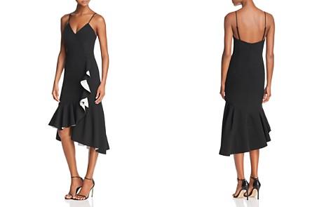 Bardot Asymmetric Ruffled Midi Dress - Bloomingdale's_2