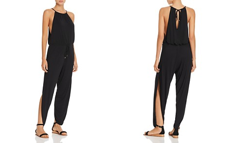 Laundry by Shelli Segal Draped Jumpsuit Swim Cover-Up - Bloomingdale's_2