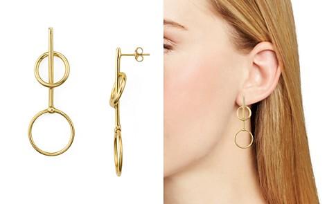 Argento Vivo Double Loop Drop Earrings - Bloomingdale's_2