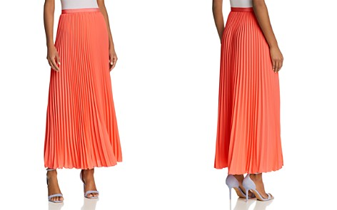 FRENCH CONNECTION Polly Plains Pleated Maxi Skirt - Bloomingdale's_2