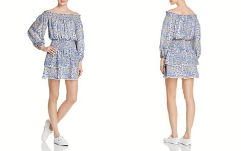 Parker Kara Off-the-Shoulder Silk Dress - Bloomingdale's_2