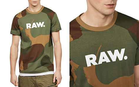 G-STAR RAW Zost Camouflage Logo Tee - Bloomingdale's_2