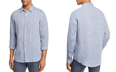 Michael Kors Cross Dye Linen Long Sleeve Button-Down Shirt - Bloomingdale's_2